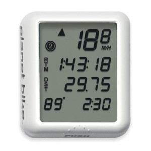Planet Bike Protege 9.0 9-Function Bike Computer with 4-Line Display and Temperature