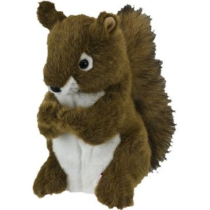 Daphne's Squirrel Headcovers