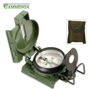CMMG Phosphorescent Lensatic Compass Clam Pack
