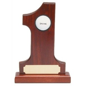 ProActive Rosewood Hole In One Trophy