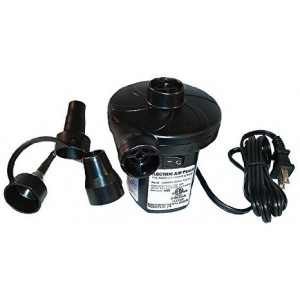 Smart Air Beds A/C Electrical Air Bed Pump (110-125v 60Hz, Black)