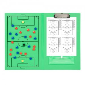 Sport Magnet Board with Marker Pieces - Perfect to Coach Soccer, Basketball, Hockey,