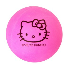 Hello Kitty Sports Ping-Pong Balls (6-Pack)