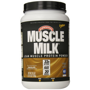 CytoSport Muscle Milk, Chocolate, Gluten Free, 2.47 Pound