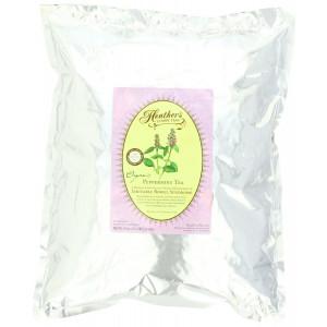 Peppermint Tea POUCH for Irritable Bowel Syndrome ~ Heather's Tummy Teas Loose Organic Peppermint Tea (16 oz. Bulk Pouch)