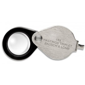 Bausch and Lomb Hastings Triplet Magnifier, 14x