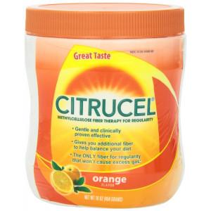 Citrucel with Smartfiber, Orange Flavored, 16-Ounce Jar