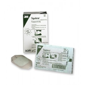 Nexcare Tegaderm Transparent Dressing - 2-3/8 Inches X 2-3/4 Inches - 100