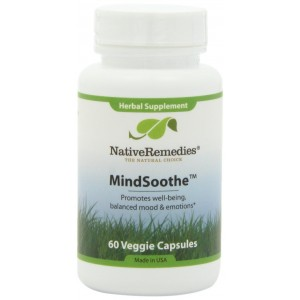 Native Remedies MindSoothe Capsules, 60-Count Bottle