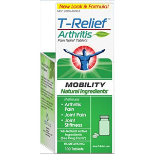 T-Relief Pain Relief, 100 Tablets