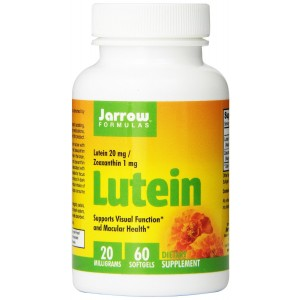 Jarrow Formulas Lutein, 20 mg, 60 Count