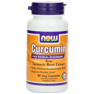 NOW Foods Curcumin Extract 95% 665 mg, 60 Veg Capsules