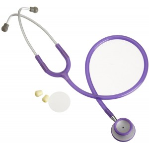 American Diagnostic Corporation Adscope 609fv, Frosted Purple, Adult