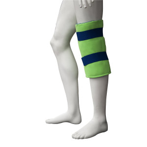 Polar Ice Standard Knee Wrap, Cold Therapy Ice Pack, Universal Size (Color may vary)