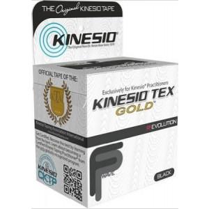 """Kinesio Tex GoldTM Tape TWO Rolls 2""""  x 16.4' Black"""