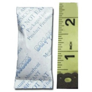 Silica Gel Packets - 3 Grams - 10 Packets by Dry-Packs Brand!