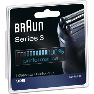 Braun Series 3 Replacement Head 32B, 1 Count