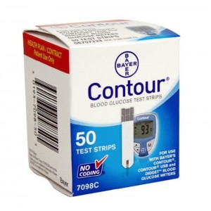 Diagnostics Direct KL-JKL7-BRCC.MISSING Bayer Ascensia Contour Diabetic Test Strips (Pack of 50)