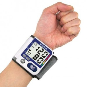 Wristech Blood Pressure Monitor - Fully Automatic Extra Large LCD Screen