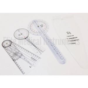 """Goniometer 3 Piece Set 12""""  , 8""""  , 8""""  Spinal: 3 Pieces EGM-428"""