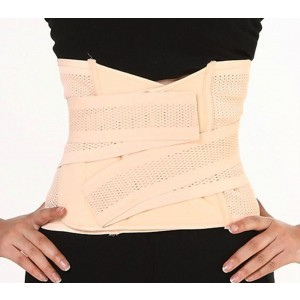 Sclm Postpartum Recovery Belly Abdomen Waist Slimming Shaper Wrapper Belt Breathable
