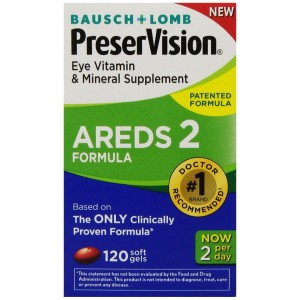 PreserVision AREDS 2 Vitamin and Mineral Supplement 120 Count Soft Gels