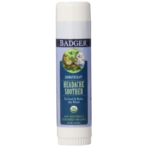 Badger Headache Soother - .60 oz Stick