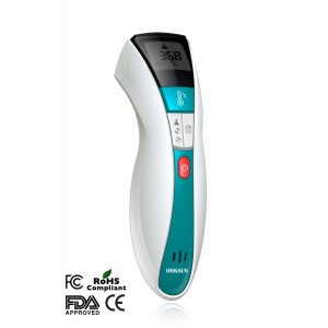 TempoScan Non-contact High Accuracy Infrared Thermometer for Body and Surface
