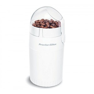 Proctor Silex E160BY Fresh Grind Coffee Grinder, White