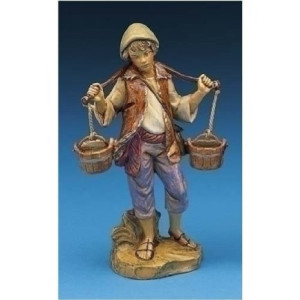 Fontanini Noah With Water Bucket Figurine