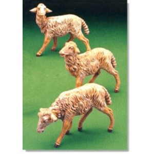7.5 Inch Scale Fontanini White Sheep 52899