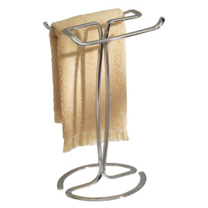 InterDesign Axis Fingertip Towel Holder, Chrome