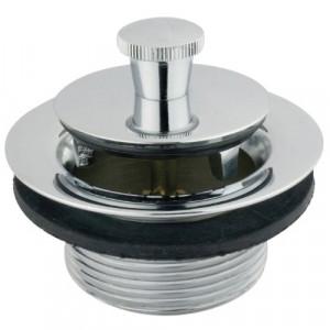 Kingston Brass DLL201 Lift and Lock Bath Tub Drain, Polished Chrome