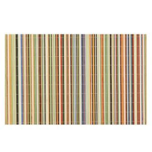 Benson Mills Rainbow Sticks Bamboo Multi Colored Placemats, Set of 4