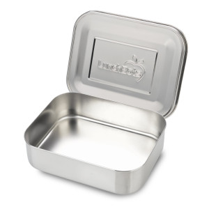 LunchBots Uno Stainless Steel Food Container, Stainless Steel