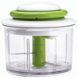 Chef'n Veggie Chop Hand-Powered Food Chopper, Arugula