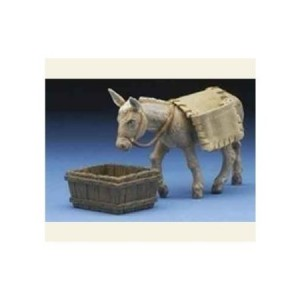 Fontanini 3 Pc Set Mary's Donkey * Nativity Village Collectible 54020