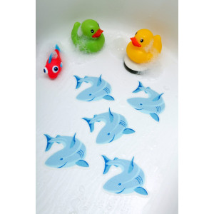 Tub Tattoos: Shark