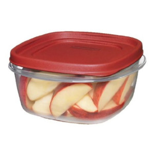 Rubbermaid Easy Find Lid Square 5-Cup Food Storage Container (Pack of 3)