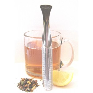 The Most Amazing Tea Infuser - The Steep Stir! Premium Tea Infuser - Tea Strainer - Tea Steeper - Best Portable Loose Leaf Tea Infuser!