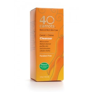 40 Carrots Cleanser, 4-Ounce Boxes