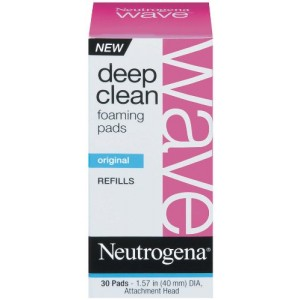 Neutrogena Wave Deep Clean Foaming Pad Refills, 30 Count