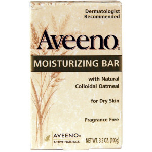 Aveeno Moisturizing Bar 3.5 Oz (6 Pack)