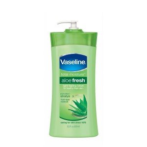 Vaseline Body Lotion, Aloe Soothe 20.3oz (Pack of 3)
