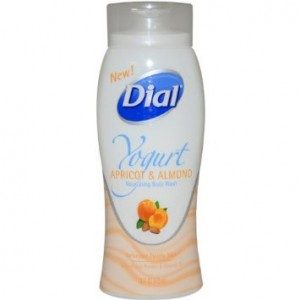 Yogurt Apricot and Almond Nourishing Body Wash by Dial, 16 Ounce