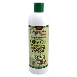 Africa's Best Organics Olive Oil Growth Lotion, 12 Ounce