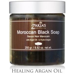 Moroccan Black Soap with Argan Oil