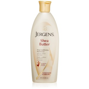 Jergens Shea Butter Lotion, 8 Ounce (Pack of 2)