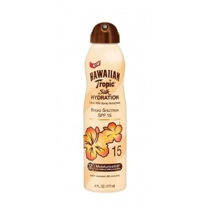 Hawaiian Tropic Silk Hydration Continuous Spray Sunscreen Spf 15, 6 Ounce
