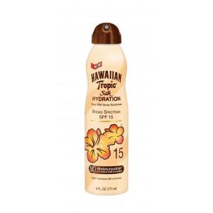 Hawaiian Tropic Silk Hydration Continuous Spray Sunscreen Spf 15, 6 Ounce